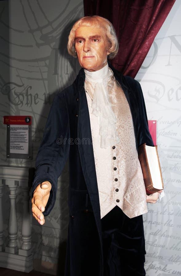 Le Président Thomas Jefferson images libres de droits