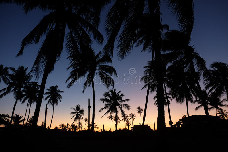 Le Praia font le forte - Bahia, Brésil photos stock