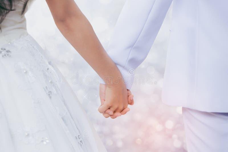Le pre-nozze della presa dello sposo e della sposa fotografia stock
