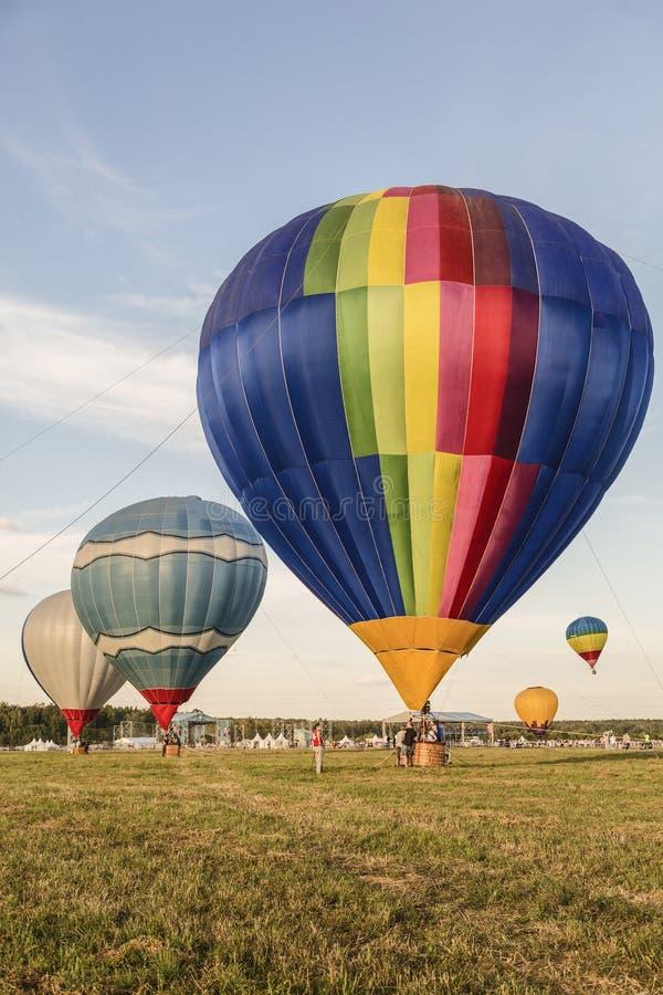 """Le premier festival de l'aéronautique """"ciel de Moscou """"à Moscou photographie stock libre de droits"""
