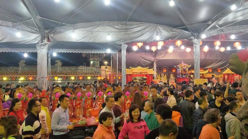 """Le premier jour du premier mois est """"Tian Gong Sheng """" photographie stock libre de droits"""