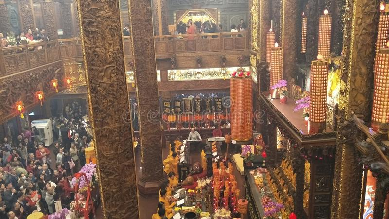 """Le premier jour du premier mois est """"Tian Gong Sheng """" images stock"""