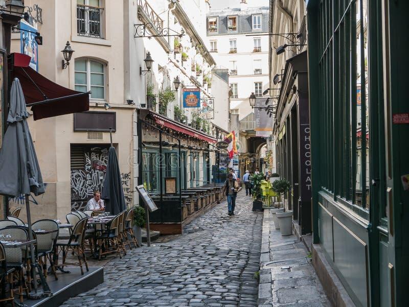 Le Procope in Parijs, Frankrijk royalty-vrije stock afbeelding