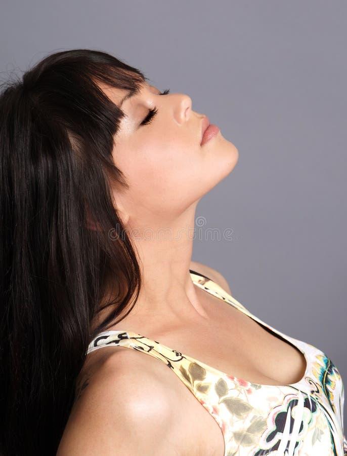 Download Le profil du femme image stock. Image du santé, frais - 8656209