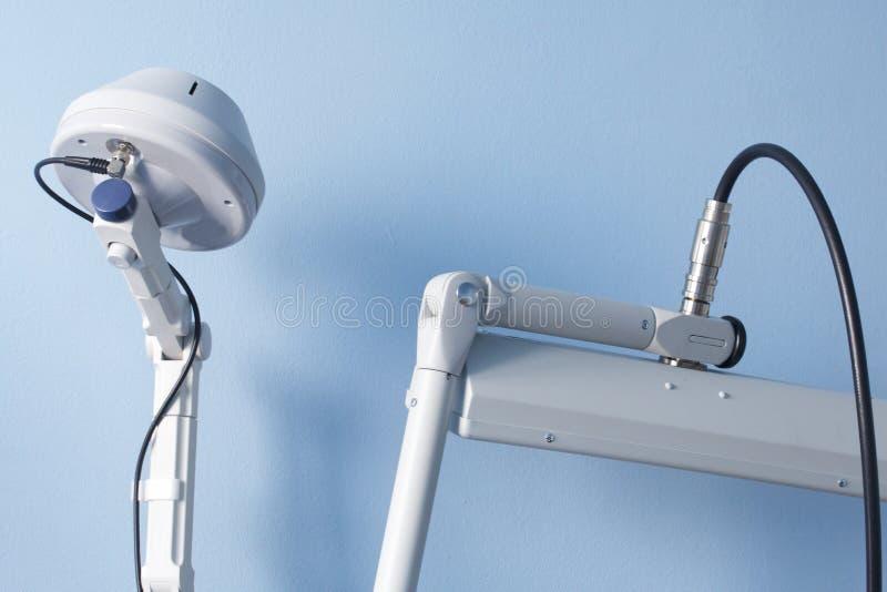 Le programme de la réadaptation médicale Pièce de thérapie de micro-onde images stock