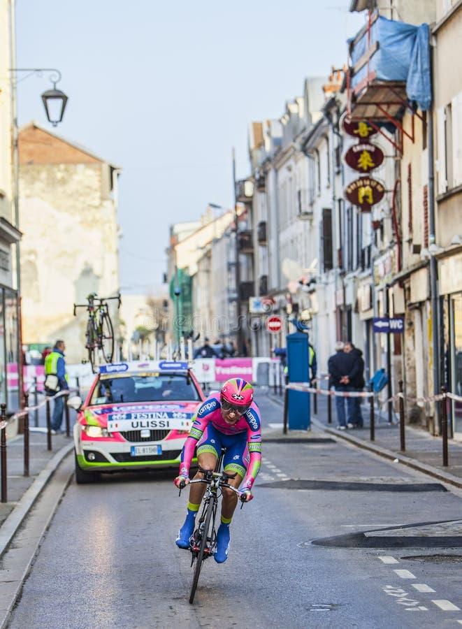 Le Prologue 2013 D Ulissi Diego Paris De Cycliste Nice Image éditorial
