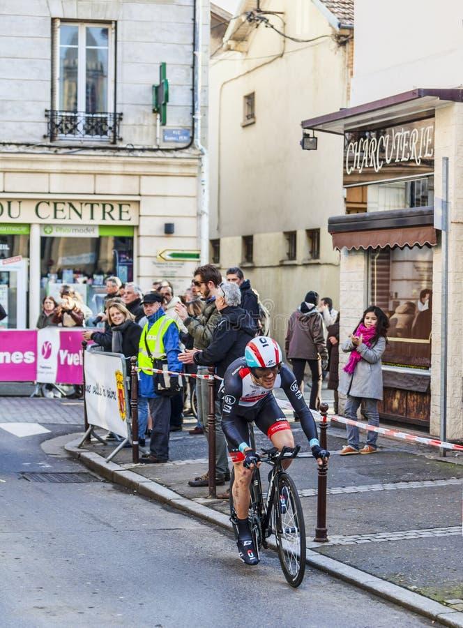 Le prologue 2013 de Monfort Maxime Paris de cycliste Nice dans Houilles