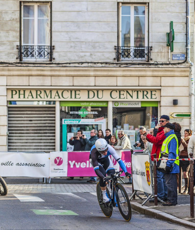 Le prologue 2013 de Renshaw- Paris de marque de cycliste Nice dans Houilles