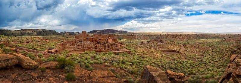 Le pueblo de Wupatki ruine le monument national, Arizona photographie stock