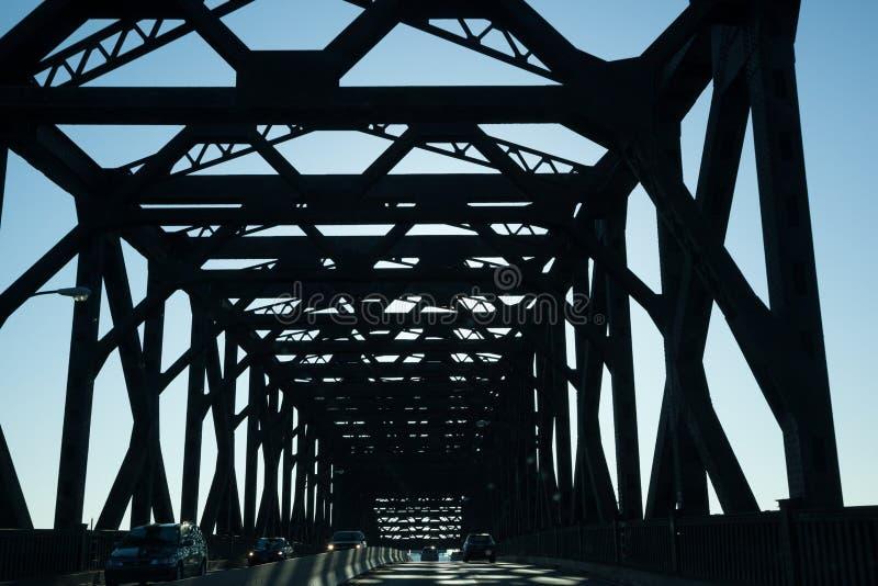 Le Pulaski Skyway photographie stock libre de droits