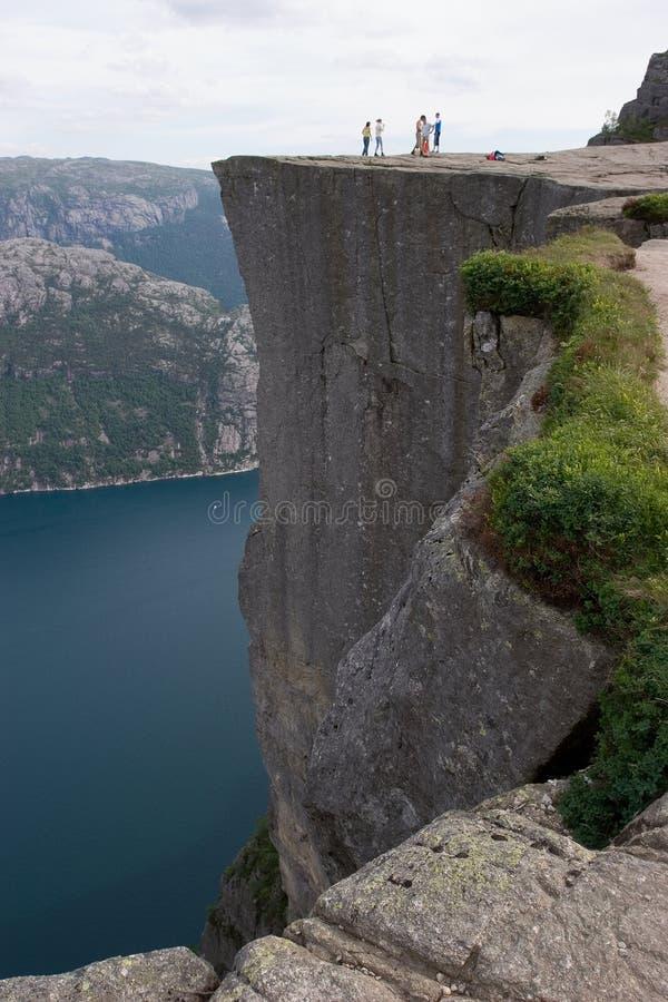 Le pupitre, Norvège photo libre de droits