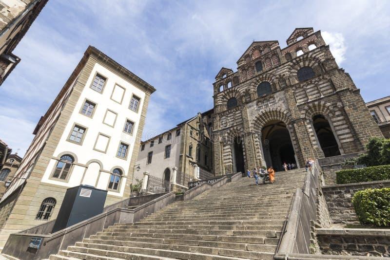 Le Puy-en-Velay, França fotos de stock royalty free