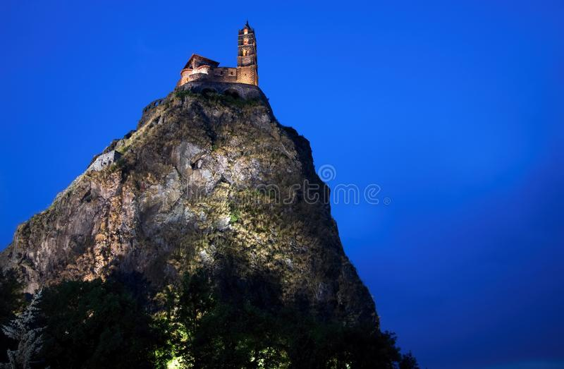 Le Puy en Velay, France. stock photos