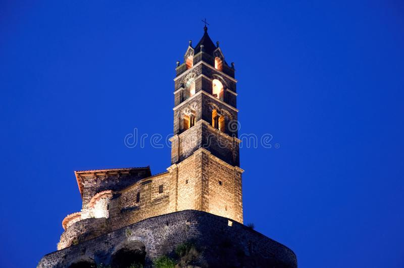 Le Puy en Velay, France. royalty free stock photos
