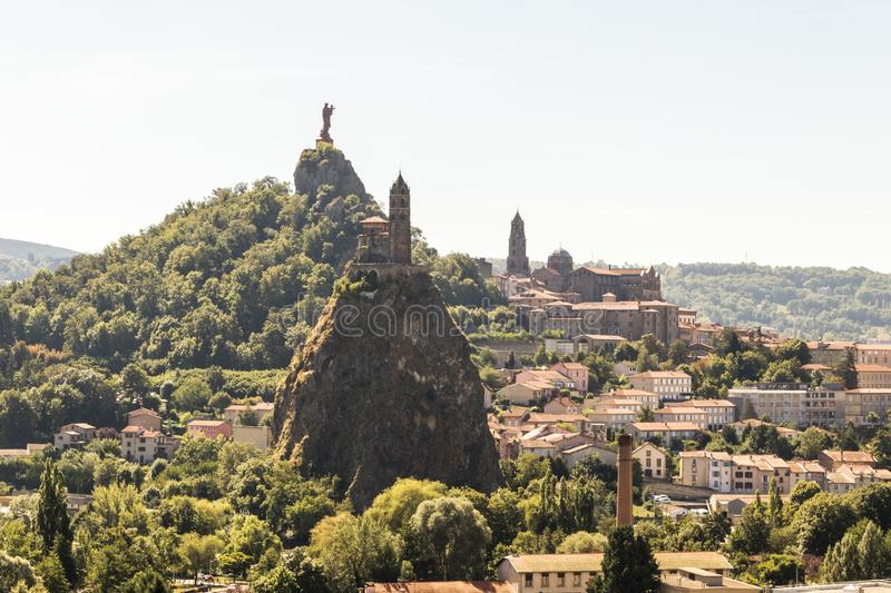 Le Puy en Velay, France stock image