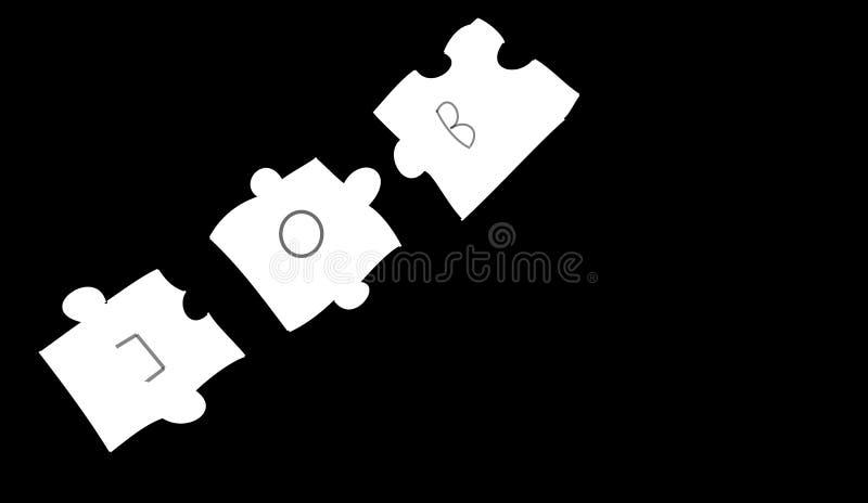 Le puzzle photos stock