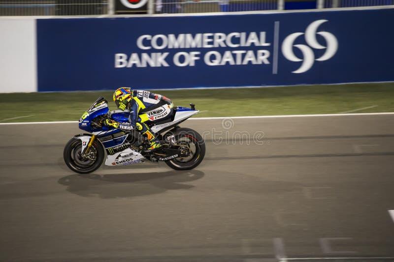 Le Qatar MotoGP 2013 photo stock