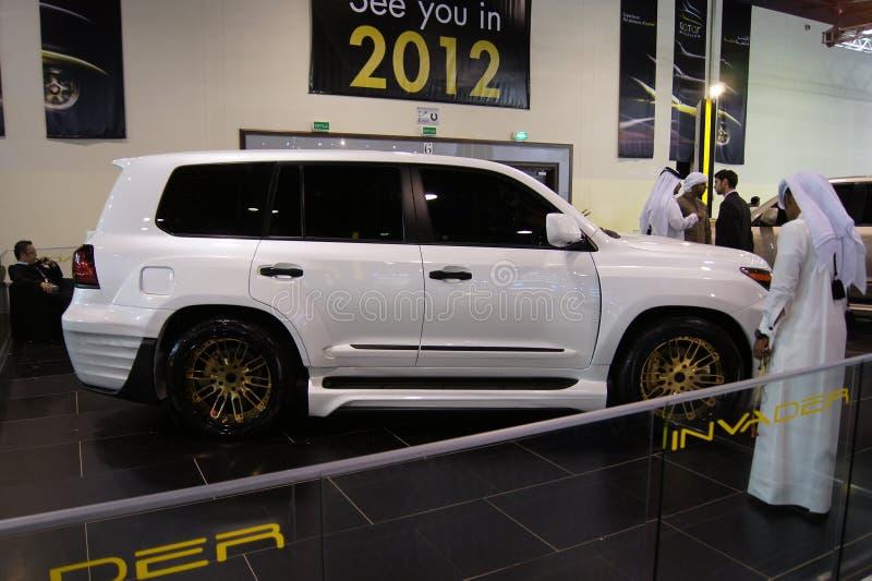 Le Qatar Motorshow 2011 - envahisseur photo stock