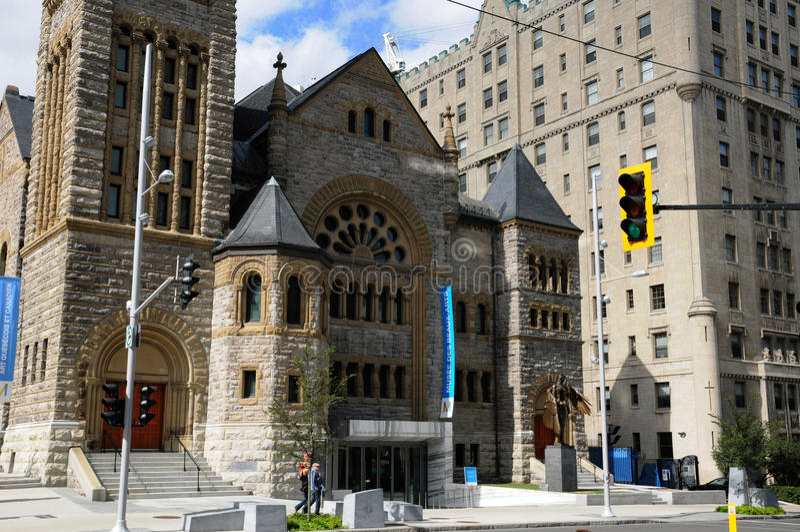 Le Québec, musée de beaux-arts à Montréal photographie stock libre de droits