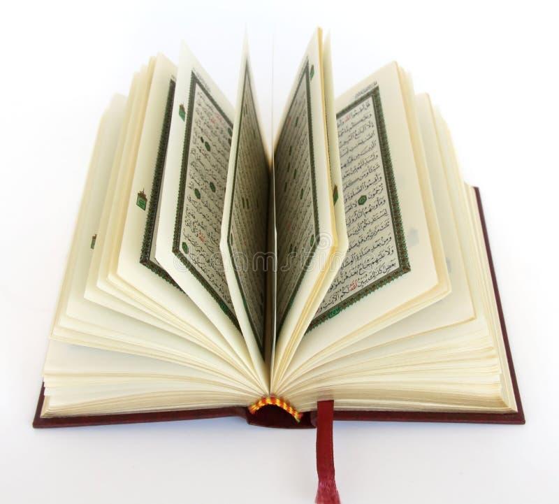 Le Quran saint image libre de droits