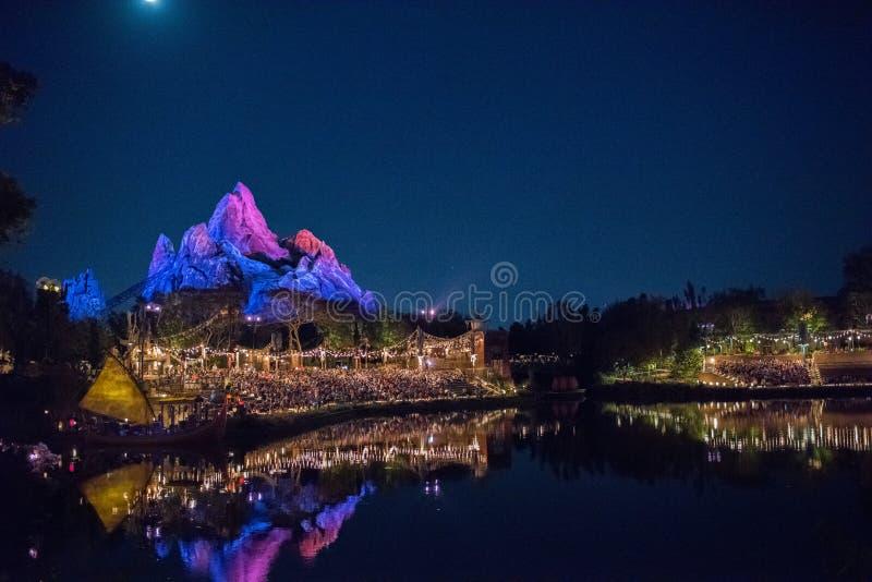 Le règne animal chez Walt Disney World images libres de droits