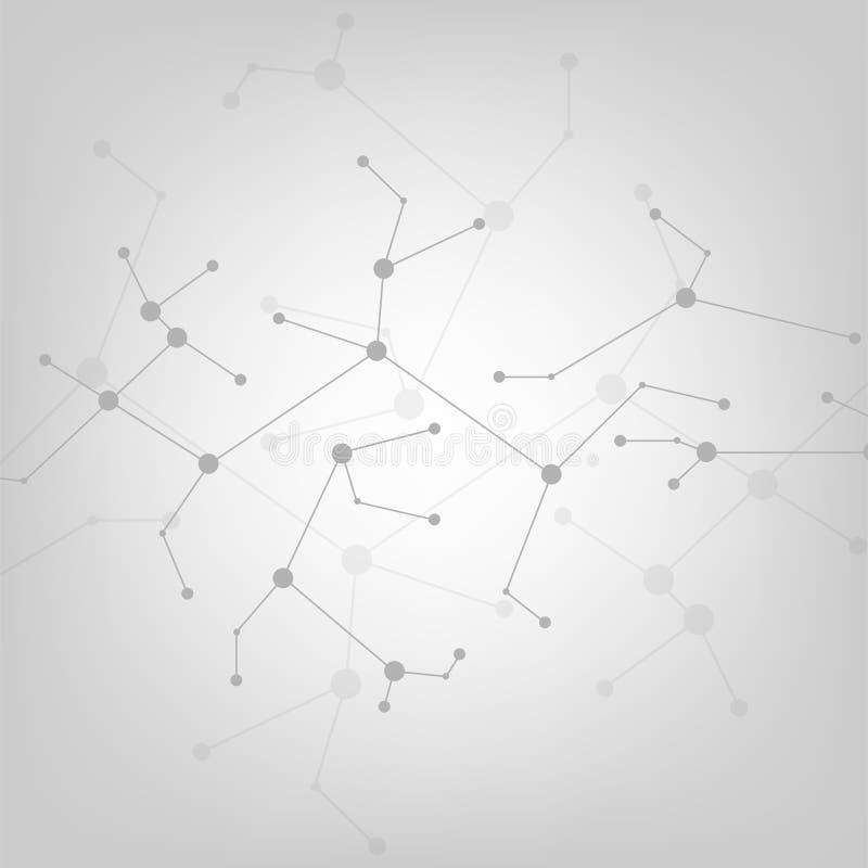 Le réseau des technologies disponibles autour du monde illustration stock