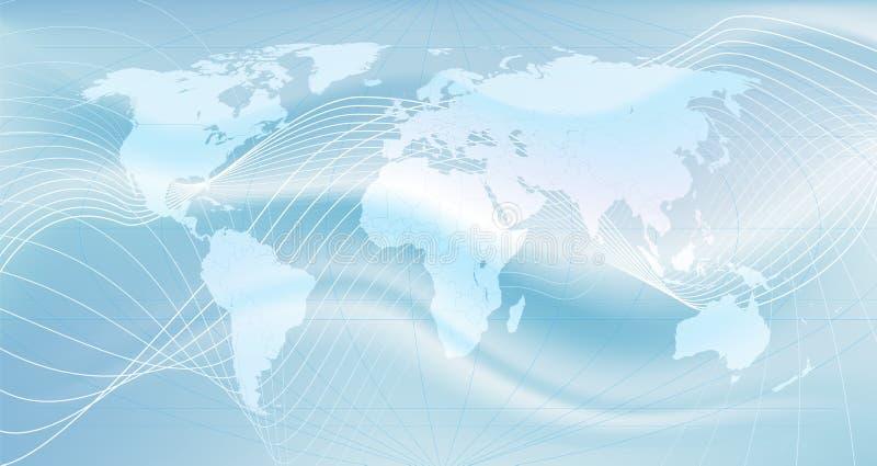 Le réseau global illustration stock