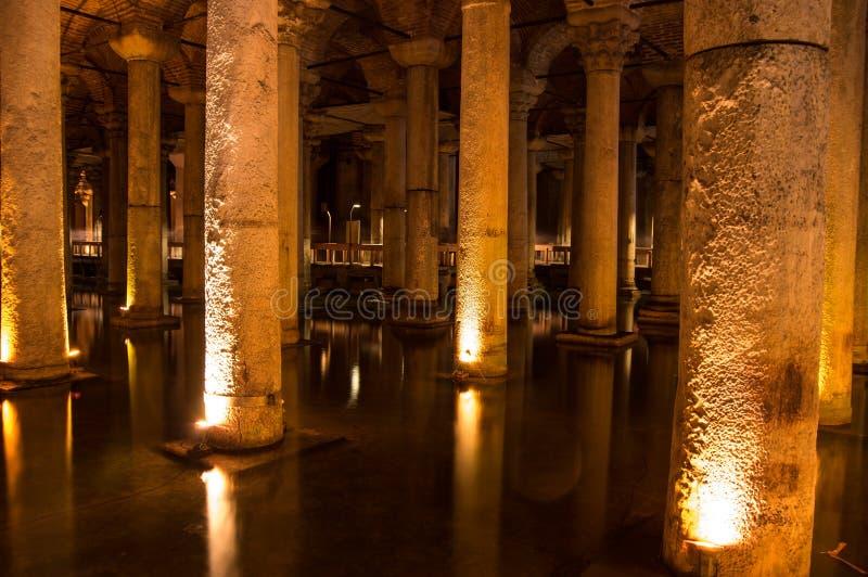 Le réservoir de basilique dans Instanbul photographie stock