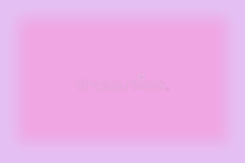 Le résumé a brouillé le rose et le pourpre a coloré le fond avec une bannière lisse de brochure de papier peint de gradient pour  illustration libre de droits