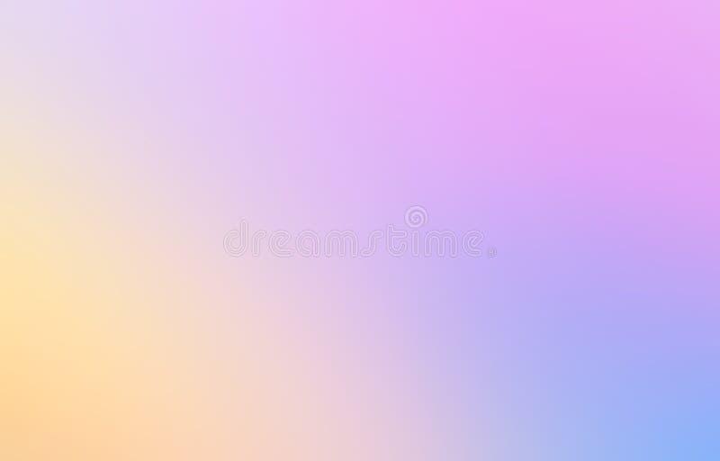 Le résumé multicolore a brouillé le fond de maille de gradient dans lumineux illustration stock
