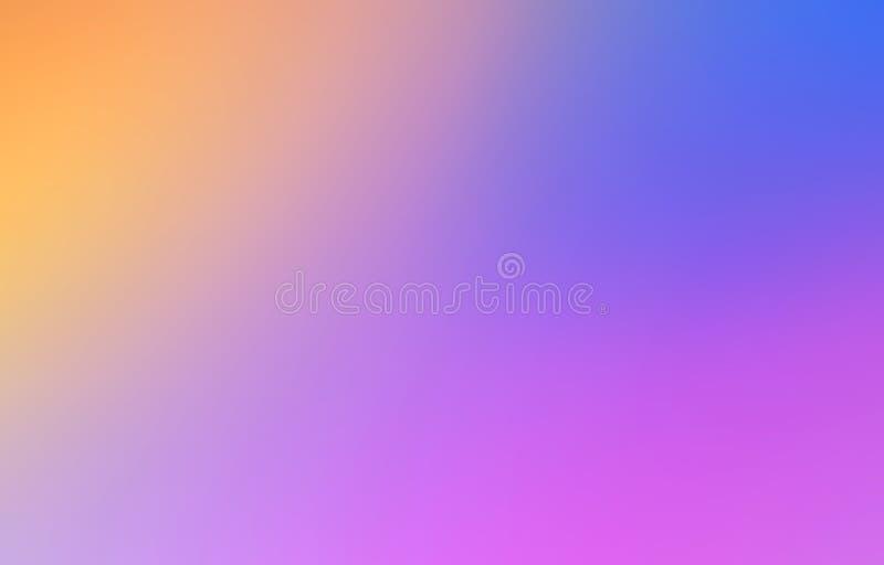 Le résumé multicolore a brouillé le fond de maille de gradient dans lumineux illustration libre de droits