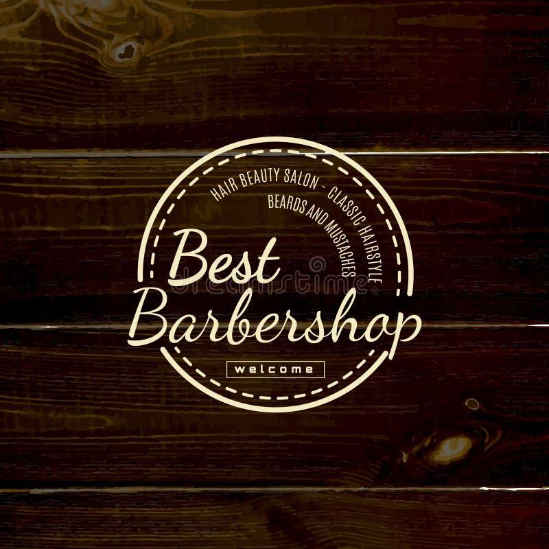 Le raseur-coiffeur badges des logos et des labels pour utilisation photo stock