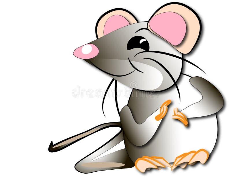 Le rat adroit photo libre de droits