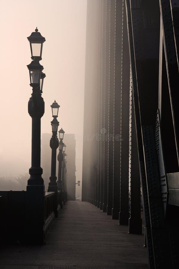 Le Regain Sur La Tyne Image stock