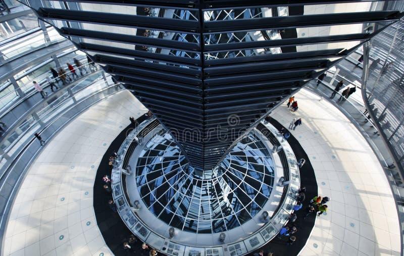 Le Reichstag à Berlin images libres de droits