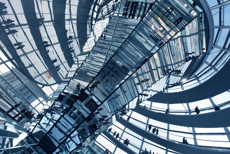 Le Reichstag à Berlin photographie stock libre de droits
