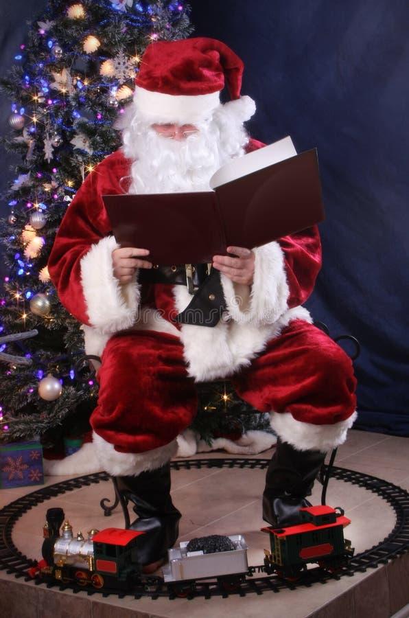 Le relevé de Santa photo stock