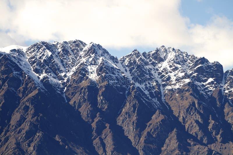 Le Remarkables Nouvelle-Zélande photos stock