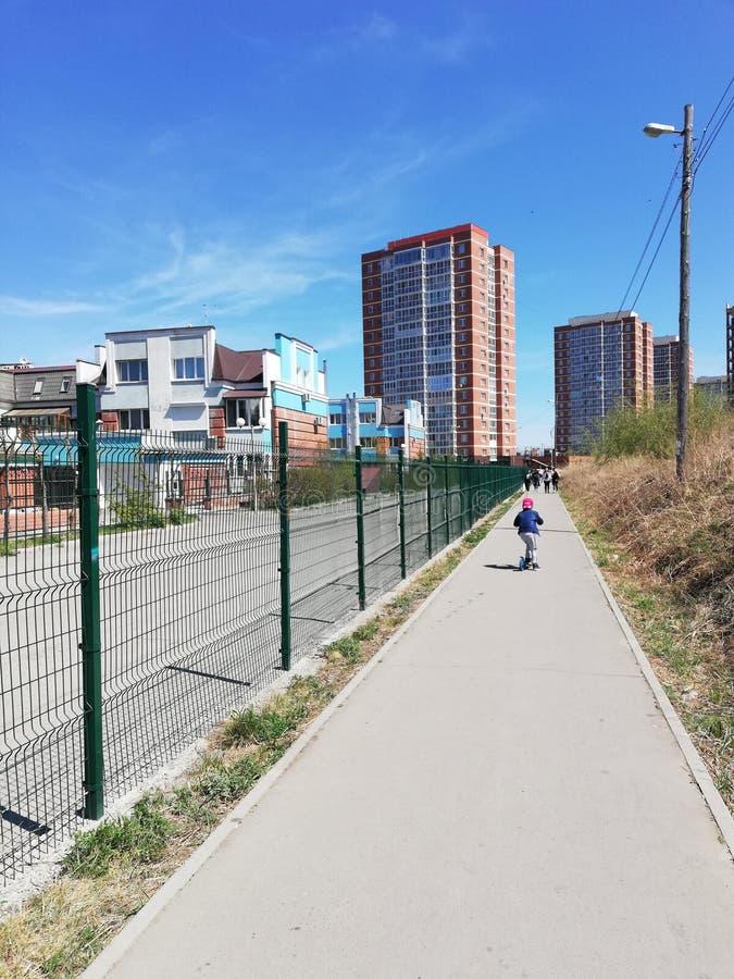 Le ressort de ville est ici photos libres de droits