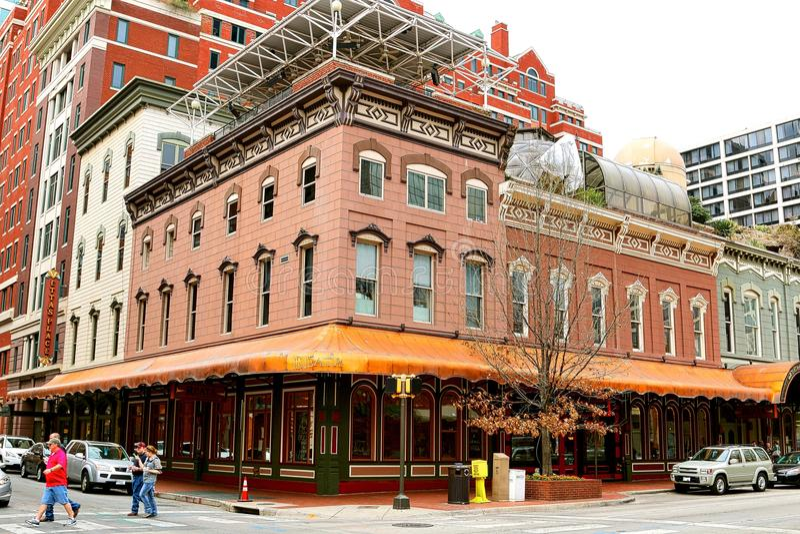 Le restaurant de Reata, Fort Worth le Texas photographie stock