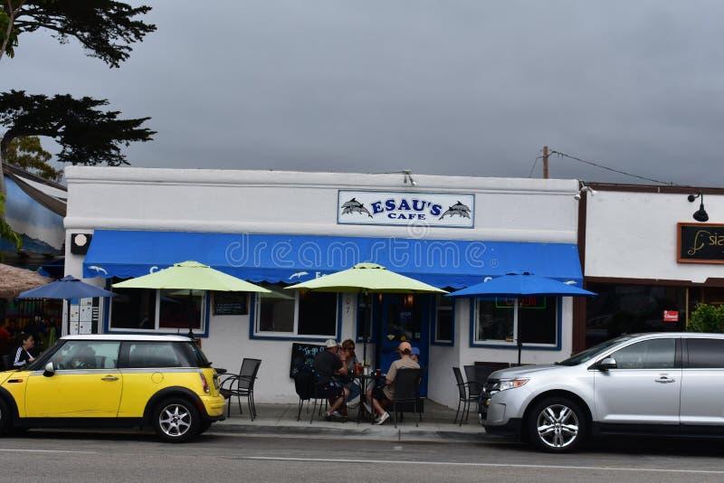 Le restaurant le plus ancien du ` s de Carpinteria de café du ` s d'Esau photographie stock libre de droits