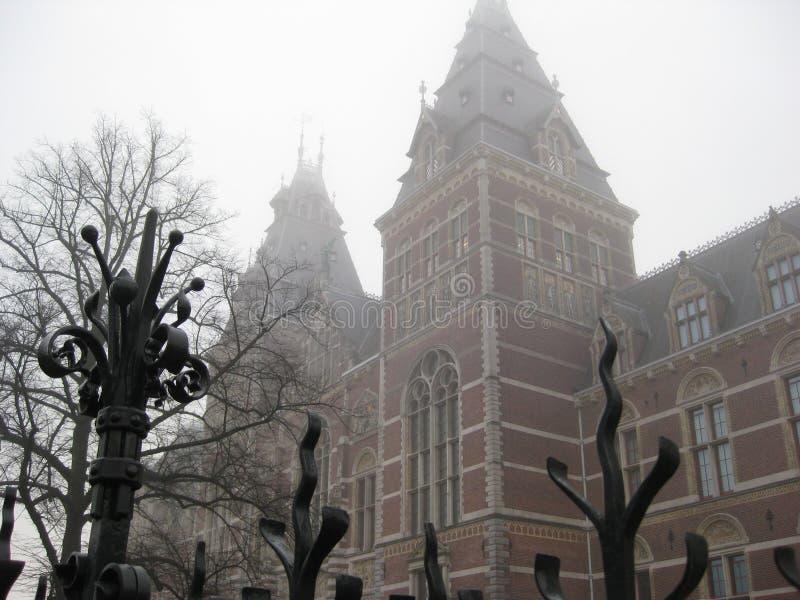 Le Rijskmuseum, Amsterdam photo libre de droits