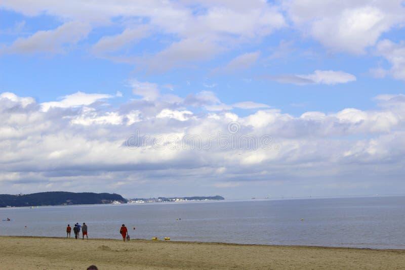 Le rivage de la mer baltique dans Sopot photo libre de droits