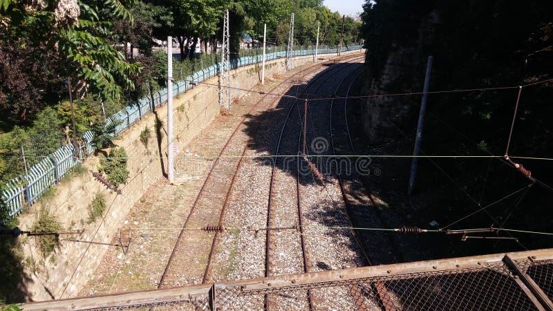 Le rkiye Sirkeci de ¼ de tà d'Istanbul tren l'orphie images stock