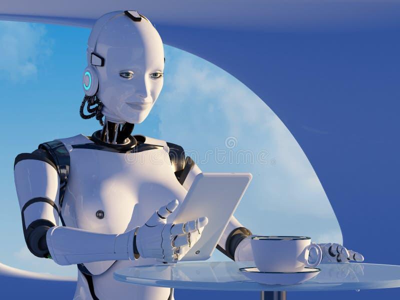 Le robot illustration stock