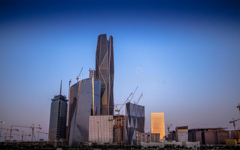 Le Roi Abdullah Financial District photographie stock