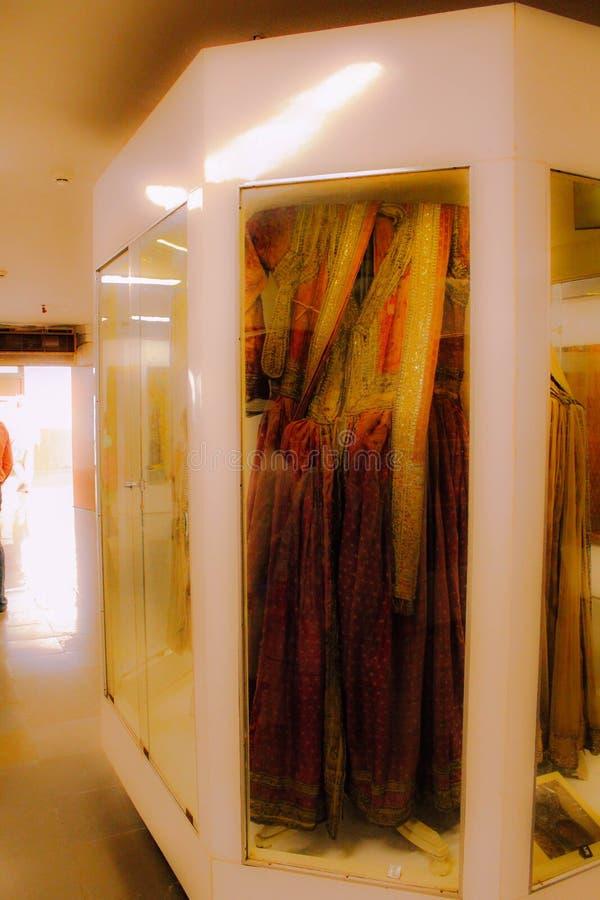 Le Roi antique Costume Displayed At Salar Jung Museum Hyderabad India image libre de droits