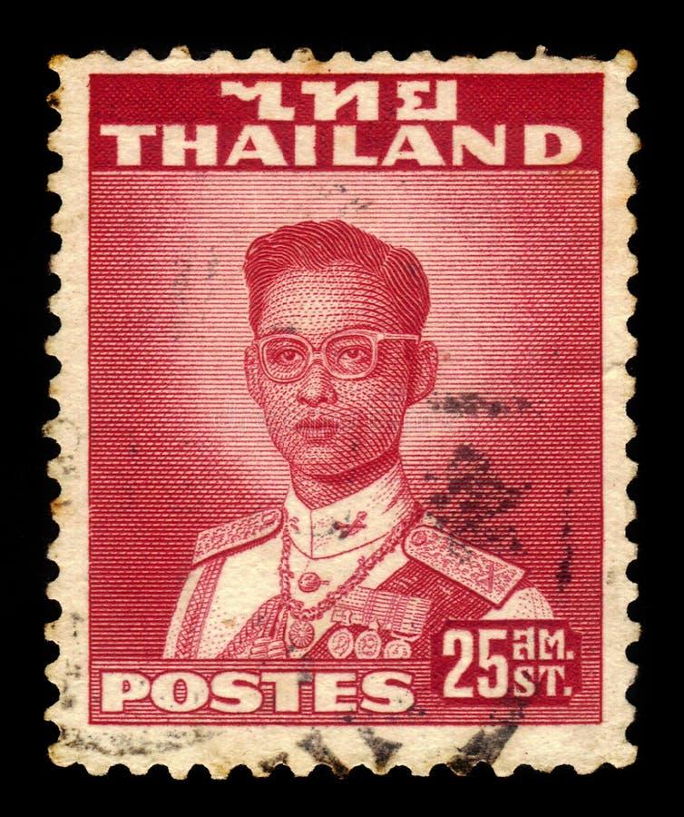 Le Roi Bhumibol Adulyadej, roi de la Thaïlande images libres de droits