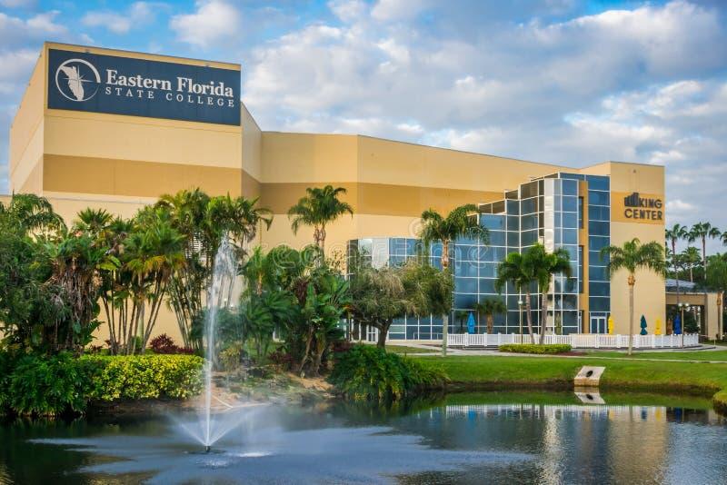 Le Roi Center à l'université d'état orientale de la Floride image libre de droits