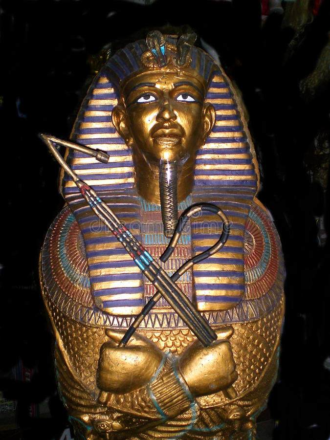 Le Roi d'or Tut Sarcophagus photos stock